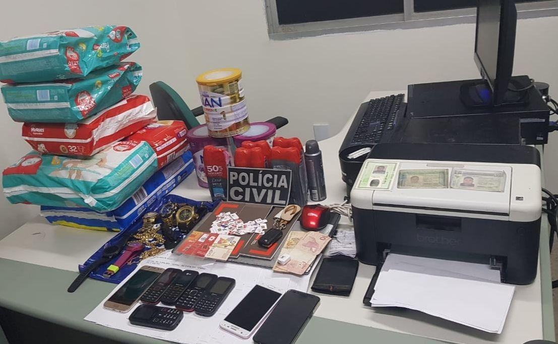 Polícia Civil prende suspeitos de praticarem estelionato usando dados retirados da internet