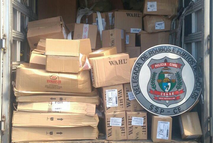 Ações capitaneadas pela DRFVC resultam nas recuperações de cargas avaliadas em mais de R$ 80 mil