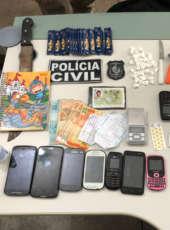 Traficante é preso em ação na cidade de Banabuiú nesta quinta-feira (17)