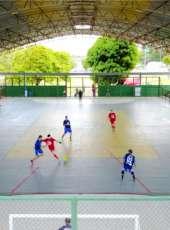 Torneio da Integração: agentes das forças de segurança do Estado participam de campeonato de futsal na Aesp