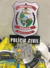 PC apreende mais de 41 kg de mineíta e prende dois homens suspeitos