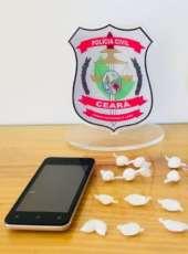 Polícia Civil prende mulher suspeita por tráfico de drogas na AIS 20