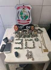 Policiais capturam grupo criminoso suspeito de tráfico de drogas na AIS 03