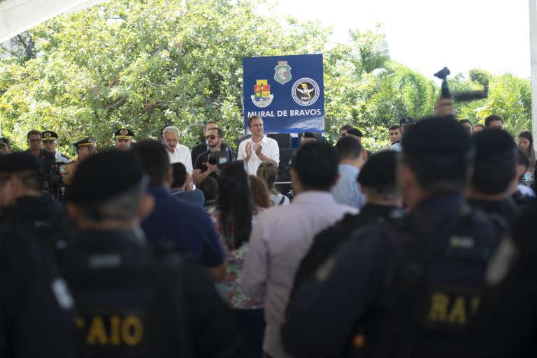 Governo do Ceará entrega nova sede do BPRaio e 11ª Uniseg de Fortaleza
