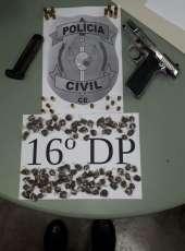 Polícia fecha laboratório de drogas, apreende armas e entorpecentes na AIS 7