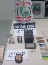 Paraibano é preso suspeito de aplicar golpe do bilhete premiado em Fortaleza