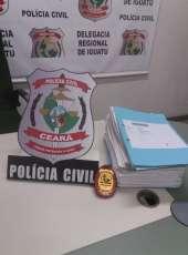 Polícia Civil conclui inquérito e indicia 50 pessoas por esquema nacional de fraude em contas bancárias em Iguatu