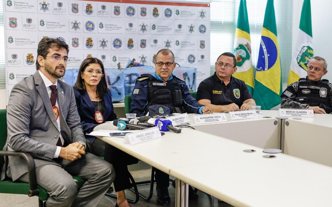 Quase duas toneladas de haxixe são apreendidas com portugueses no município de Fortim