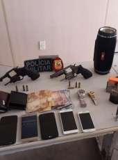 Operação integrada das Polícias Civil e Militar resulta na prisão de suspeitos de roubo