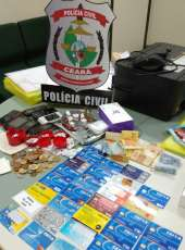 Polícia Civil cumpre mandado de prisão contra suspeito de roubos na Capital e RMF