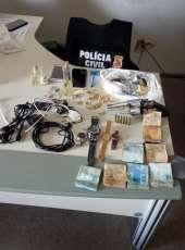 Polícia Civil desarticula esquema de roubo, furto e receptação em Sobral