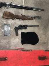 Três armas de fogo são apreendidas pela Polícia Civil durante diligência na Capital