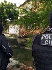 Suspeito de chefiar organização criminosa em Fortaleza é preso pela PCCE no Piauí