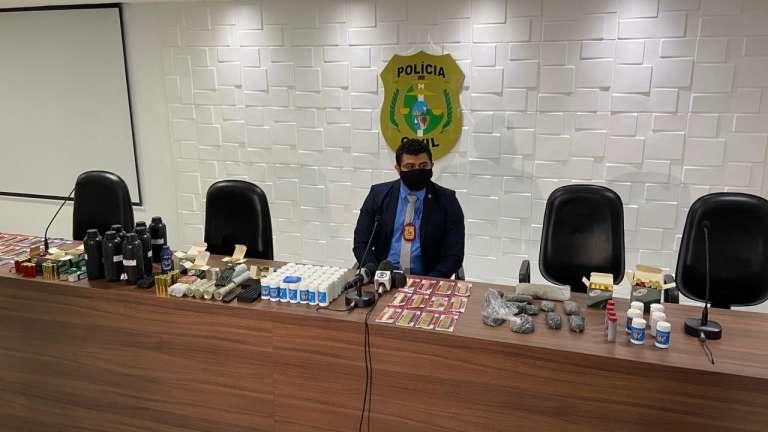 Polícia Civil apreende quase 800 munições em loja de artigos para pesca no Centro de Fortaleza