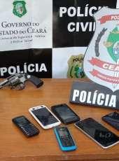 Trio suspeito de cometer homicídio é preso pela Polícia Civil em Beberibe