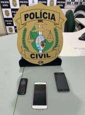 Trio suspeito de roubos na Capital é capturado com motos e celulares roubados