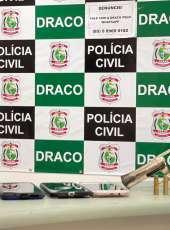 Suspeito de integrar coletivo criminoso é preso em posse de arma de fogo na Capital