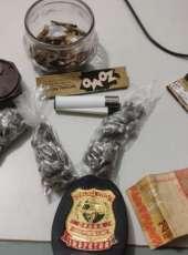 Homem é preso pela PC-CE com 80 porções de maconha em Sobral