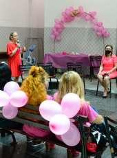 DAMPS realiza Outubro Rosa no pátio interno da Delegacia Geral
