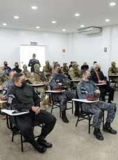Policiais civis e militares do Ceará são treinados por grupo de elite da polícia francesa