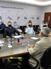 SSPDS e FCDL discutem estratégias de segurança para corredores comerciais